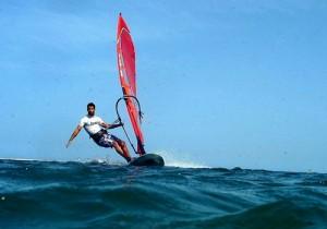 Wind Surfing in Sri Lanka